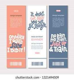 Design Doent Template | Web Print Banners Design Template Hand Stock Vector Royalty