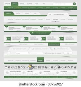 Web site navigation elements