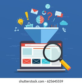 Web site optimization, increasing the efficiency factor of SEO, business marketing technology, social media, search engine optimization.