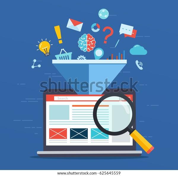 Optimización de sitios web, aumento del factor de eficiencia de SEO, tecnología de marketing empresarial, medios sociales, optimización de motores de búsqueda.