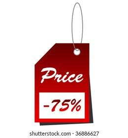 web tag price