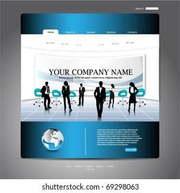 web template-vector design