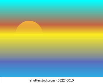 Sunset Ombre Stock Images, Royalty-Free Images & Vectors ...