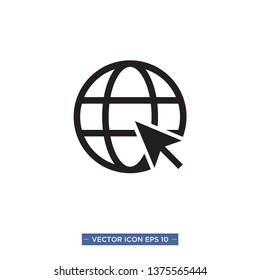 web,browser icon vector illustration