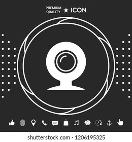 Webcam icon symbol