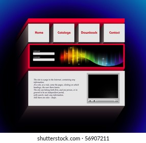 3d website template images stock photos vectors shutterstock website design template vector maxwellsz
