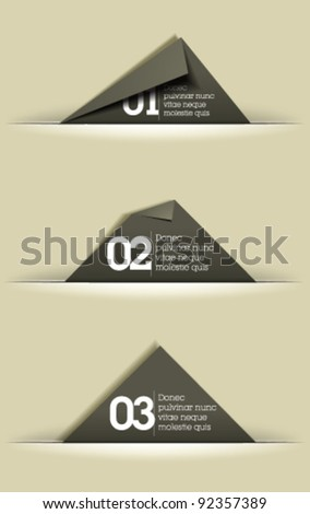 website graphic design memory cards cut stock vector royalty free