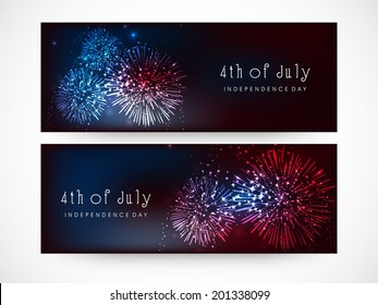 32bc4007ae1 Website header or banner design for 4th of July