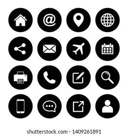 Website icon set, Web icon Set, symbol vector