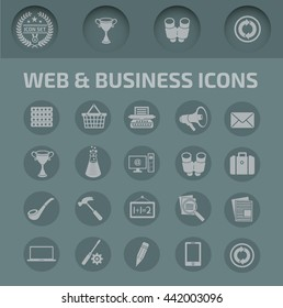 Website icon set,vector