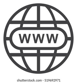 Website Icon Vector flat design style
