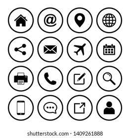 Website icon, Web icon Set symbol vector
