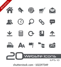 Website Icons // Basics