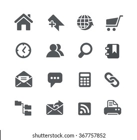 Website Icons // Utility Series