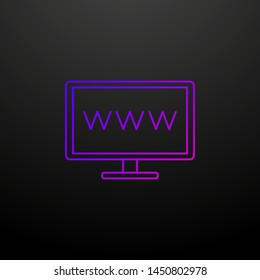 Website line nolan icon. Elements of cv set. Simple icon for websites, web design, mobile app, info graphics