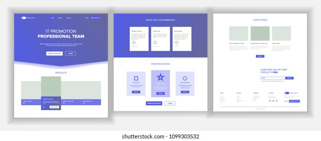 Website Page Vector. Business Website. Web Page. Landing Design Site Scheme Template. Creativity Goal. Meeting Teamwork. Human Resources. Illustration