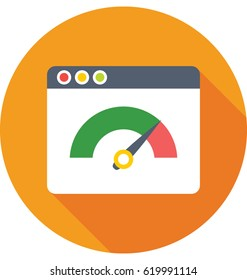 Website Speed Vector Icon