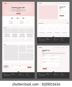 Website template collection