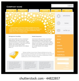 website template. EDITABLE