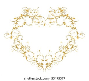 wector ornament heart