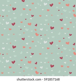 Wedding abstract seamless pattern in pastel soft colors. Good for bridal present wrap decoration, walpapers, menu. Vector Illustration.