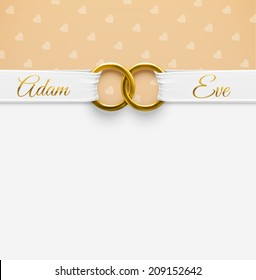 engagement invitation images stock photos vectors shutterstock https www shutterstock com image vector wedding background rings eps 10 209152642