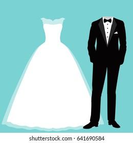 Vectores Imágenes Y Arte Vectorial De Stock Sobre Vestido
