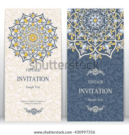 Wedding Card Invitation Card Card Abstract Image Vectorielle De