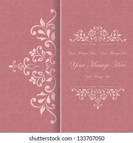 Dinner Invitation Card Design Stock Vectors Images Vector