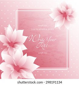 Wedding card cover design images stock photos vectors shutterstock wedding card or invitation with abstract floral background elegance pattern with flowers abstract greeting stopboris Gallery