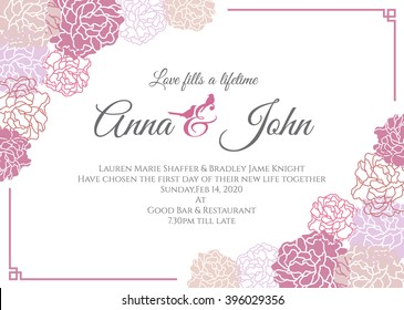 Wedding Card Design Images Stock Photos Vectors Shutterstock
