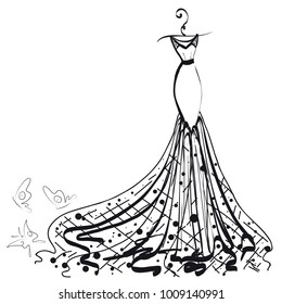 Ilustraciones Imágenes Y Vectores De Stock Sobre Vestidos