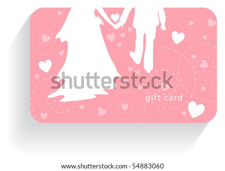 wedding gift card stock vector royalty free 54883060 shutterstock