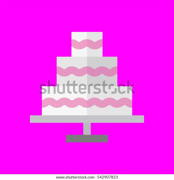 wedding icon flat disign