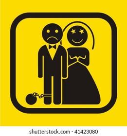 Wedding icon - vector