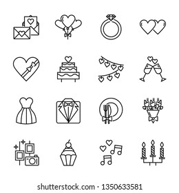 wedding icon vector design