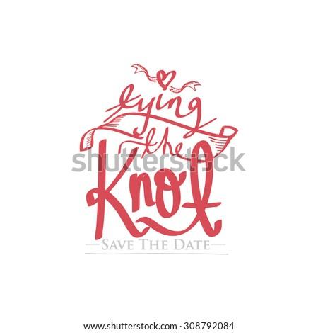 Wedding Invitation Card Design Vintage Wedding Theme Stock Vector