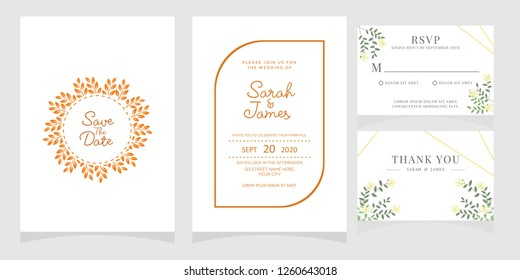 Wedding Invitation Template Images Stock Photos Vectors