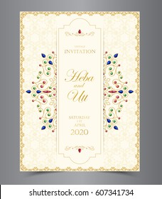Invitation Card Design Images, Stock Photos & Vectors