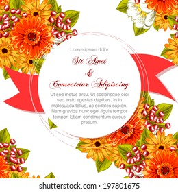 Wedding invitation cards with floral elements.