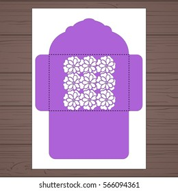 standard c 5 size envelope template decorative stock vector royalty