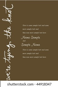Tying The Knot Wedding Images Stock Photos Vectors Shutterstock