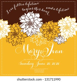 Wedding invitation printable invitation