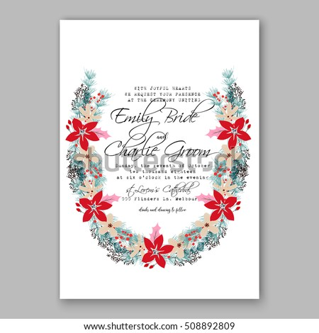 photo relating to Printable Wreath Template identified as Marriage ceremony Invitation Printable Template Floral Wreath Inventory