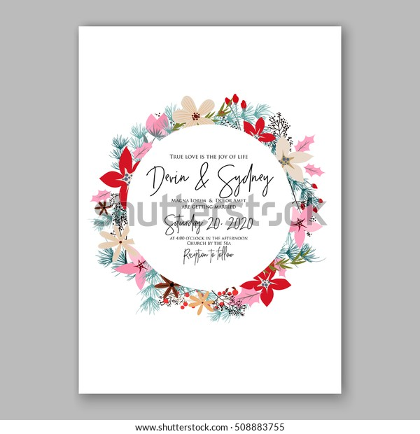 photo relating to Printable Wreath Template called Marriage ceremony Invitation Printable Template Floral Wreath Inventory