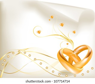 Ilustraciones Imagenes Y Vectores De Stock Sobre Ring Ceremony Card