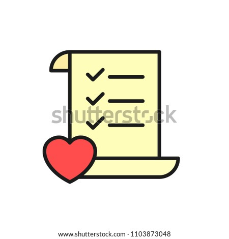 wedding planning checklist icon do list stock vector royalty free
