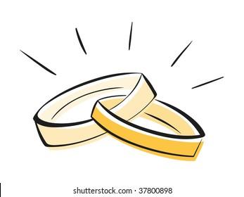 Wedding Ring Cartoon Images Stock Photos Vectors Shutterstock