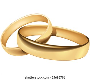 Wedding rings - blend and gradient only