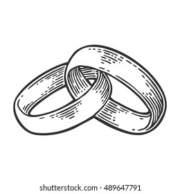 Wedding Rings Vector Images Stock Photos Amp Vectors